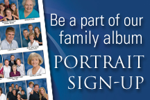 Be a part of our family album portrait sign-up